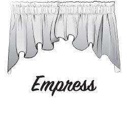 Empress Swag Valance Window Treatment