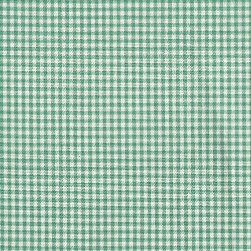 Tie-Up Valance Pool Green Gingham Check