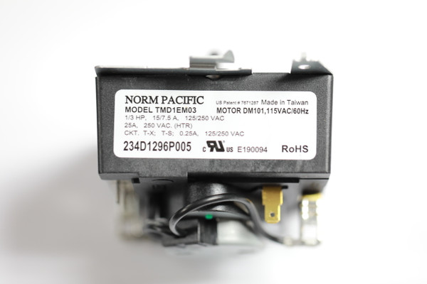 Norm Pacific Tmiem03 234d1296p005 Dryer Timer