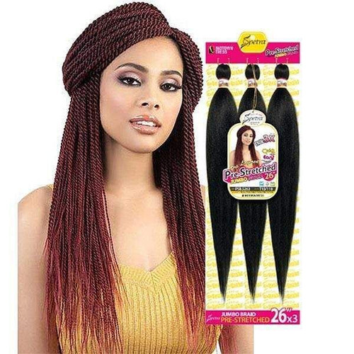 Motown Tress Quick N Easy Pre-Stretched 3X Crochet Braid 26 Inches- PSB S263