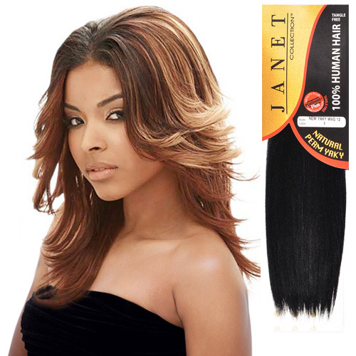 Janet Collection Remy Human Hair Weave New Yaky