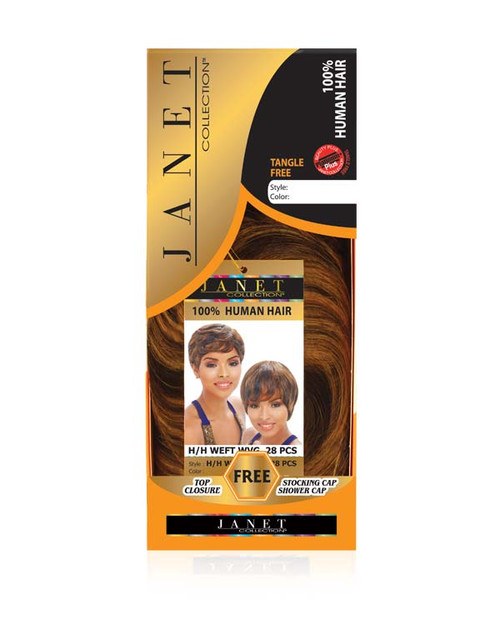 Janet Collection Human Hair Weft 28pcs