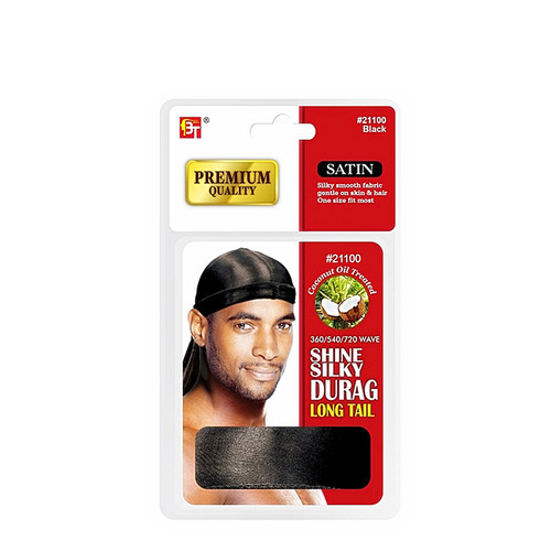 Coconut Oil Treated Shine Silky Durag