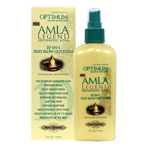Amla Legend 10 In 1 Silky Blow-Out Elixir Heat Defense Spray