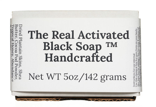 The Real Activated Black Soap Handcrafted