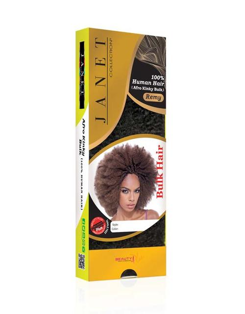 Janet Afro Kinky Bulk 100% Human Hair