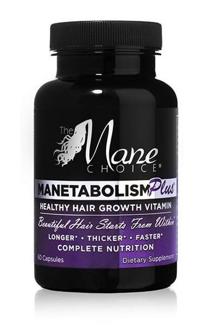 The Mane Choice Manetabolism Plus Healthy Hair Growth Vitamins 60 Capsules