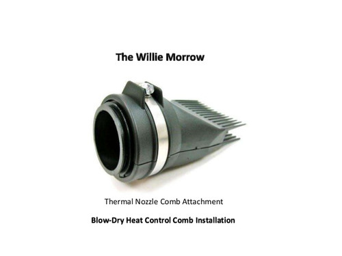 Willie Morrow Thermo Blow Dry Nozzle