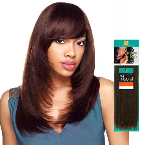 PREMIUM TOO 100% Human & Premium Blend Hair - Great Curl Retention - Easy-to-Manage Hair