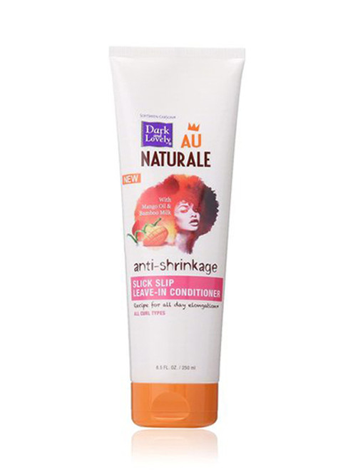 Dark and Lovely Au Naturale anti-shrinkage Slick Slip Leave-In Conditioner