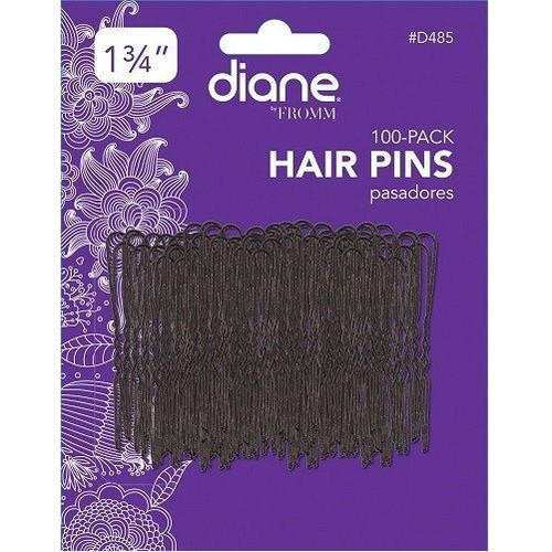 "Diane Hair Pins 100 Pk Black - 1 3/4"" #D485"