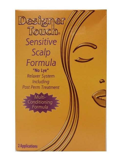 Designer Rouch Sensitive Scalp Formula No Lye Relaxer System