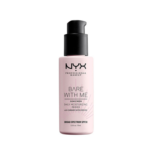 NYX BARE WITH ME CANNABIS SATIVA SEED OIL SPF 30 DAILY MOISTURIZING PRIMER
