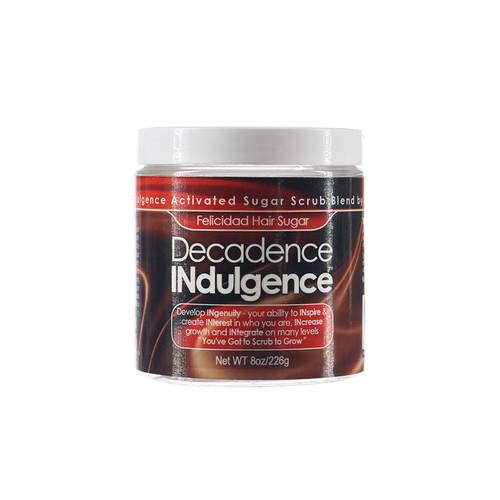 Decadence INdulgence 8oz hair sugar scrub blend