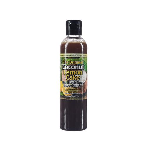 Coconut Lemon Cake- The Black Soap Experience  8oz