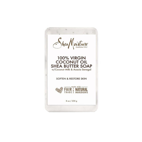 100% Virgin Coconut Oil Shea Butter Soap