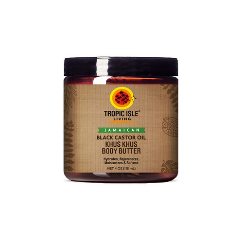 Jamaican Black Castor Oil Khus Khus Body Butter