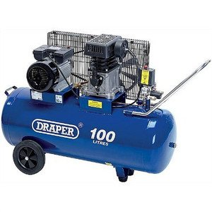 DRAPER 100L AIR COMPRESSOR - 8.1 CFM