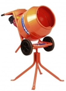 BELLE PETROL CEMENT MIXER WITH STAND