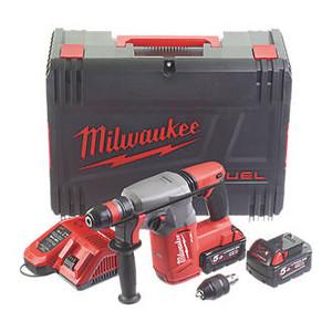 Milwaukee M18CHX-502X FUEL SDS Plus Hammer Drill Kit