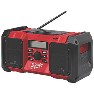 Milwaukee M18 JSRDAB+-0 DAB+ / FM CORDLESS SITE RADIO 18V
