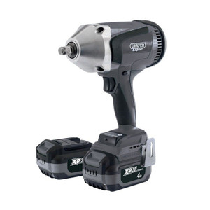 "Draper XP20 20V Brushless 1/2"" Impact Wrench (1000Nm) With 2 X 4.0Ah Batteries And Fast Charger"
