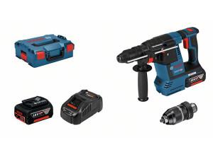 Bosch GBH18V-26 F 18V Cordless Hammer Drill With 2 x 6ah Batteries