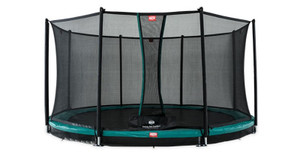 BERG FAVORIT INGROUND 430 GREY + SAFETY NET COMFORT