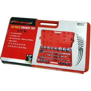 Neilsen Socket Set - 20 Piece 3/4drive  CT0149