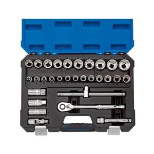"Draper 16466 1/2"" Sq. Dr. Metric Socket Set (30 Piece)"