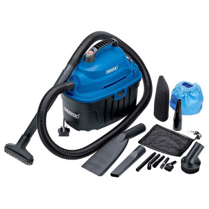 Draper 06489 10L Wet and Dry Vacuum Cleaner (1000W) Draper