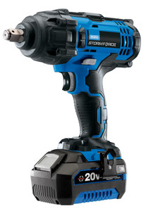 """Draper Storm Force® 20V 1/2"""" Mid-Torque Impact Wrench (400Nm) with 1 x 4Ah Battery and Charger"""