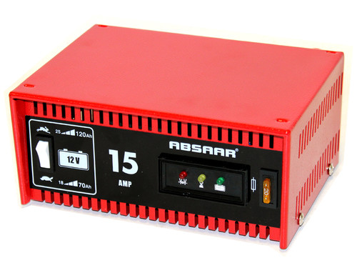 ABSAAR 15 AMP 12V BATTERY CHARGER