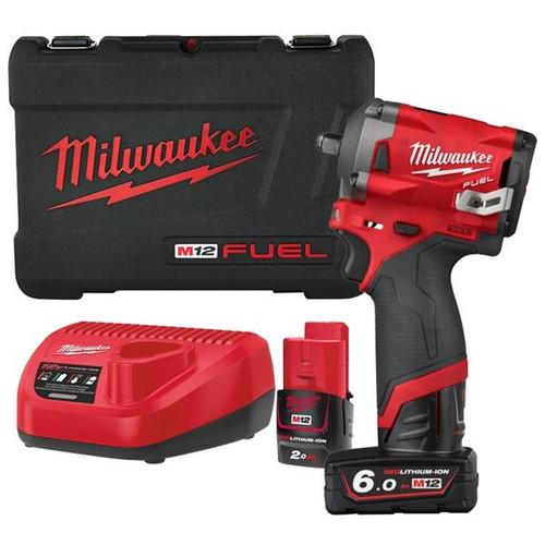 "Milwaukee M12FIW38-622X M12 Fuel Impact Wrench 3/8"""