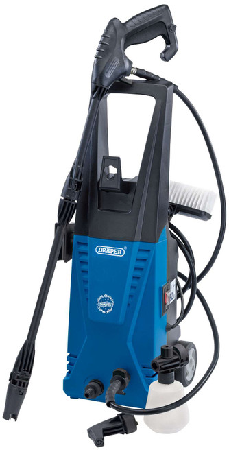 Draper 83406 (PW1740) - 1700W 230V Pressure Washer with Total Stop Feature