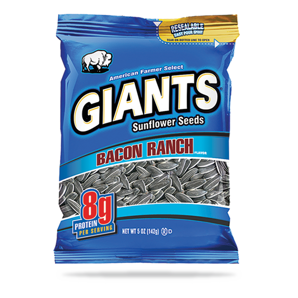 Bacon Ranch Flavored Sunflower Seeds