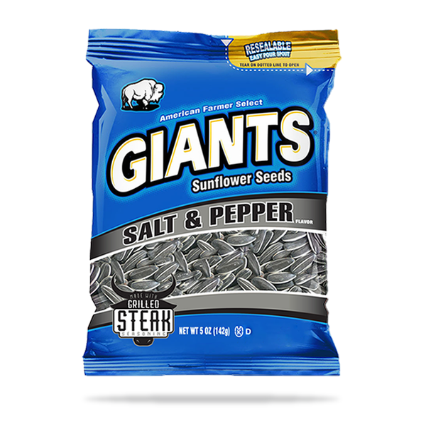 Salt & Pepper with Grilled Steak Seasoning Sunflower Seeds