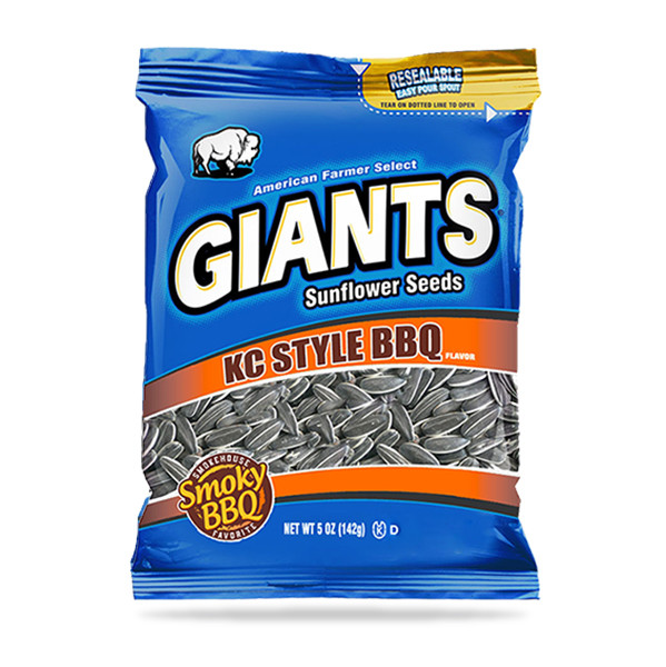 BBQ Flavored Sunflower Seeds