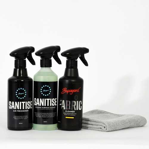 Fabric Clean and Sanitise Kit
