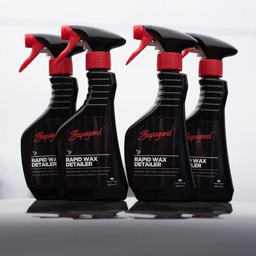 4 for £20 Rapid Wax Detailer - Waterless Wash 300ml