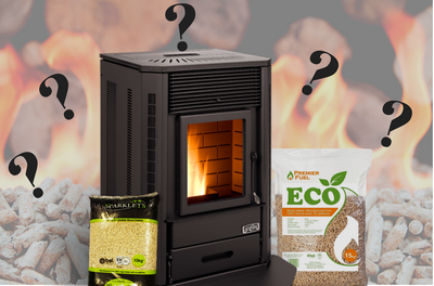 What burners can I use for wood pellets?