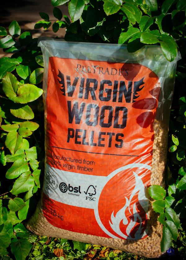 Virgin Wood pellets