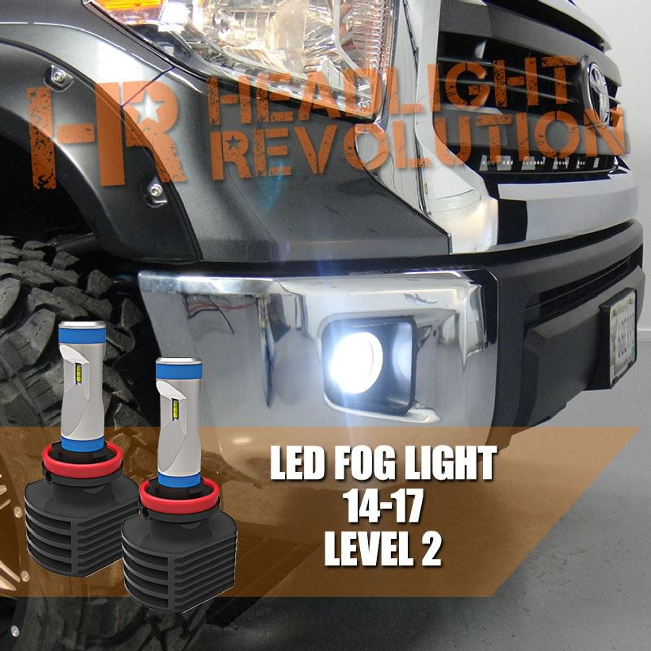 2014 2017 Toyota Tundra Led Fog Light Bulb Upgrade Level 2 Gtr