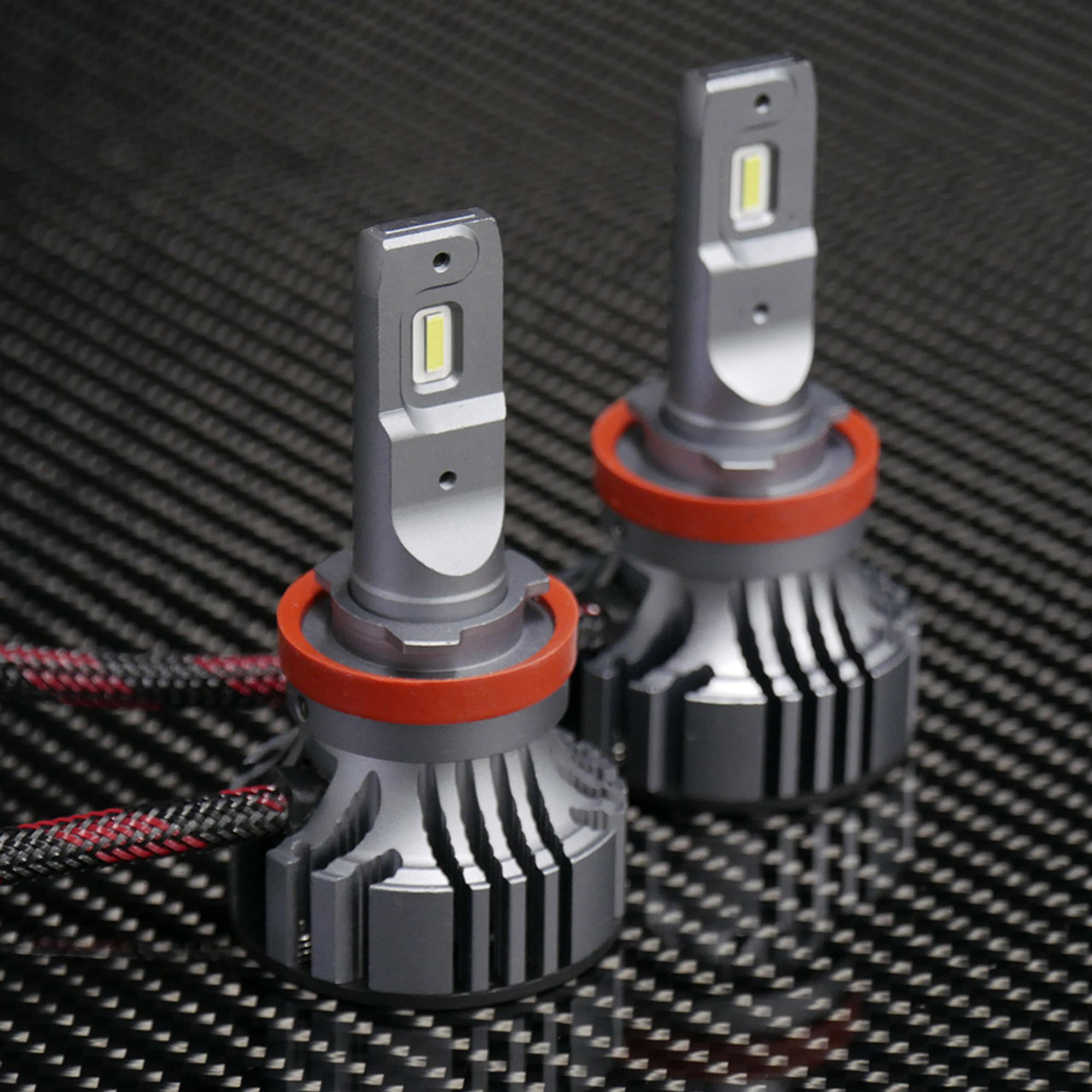 9005 Type High Power Focus Adjustable LED Headlight Bulb Replaces Halogen /& HID