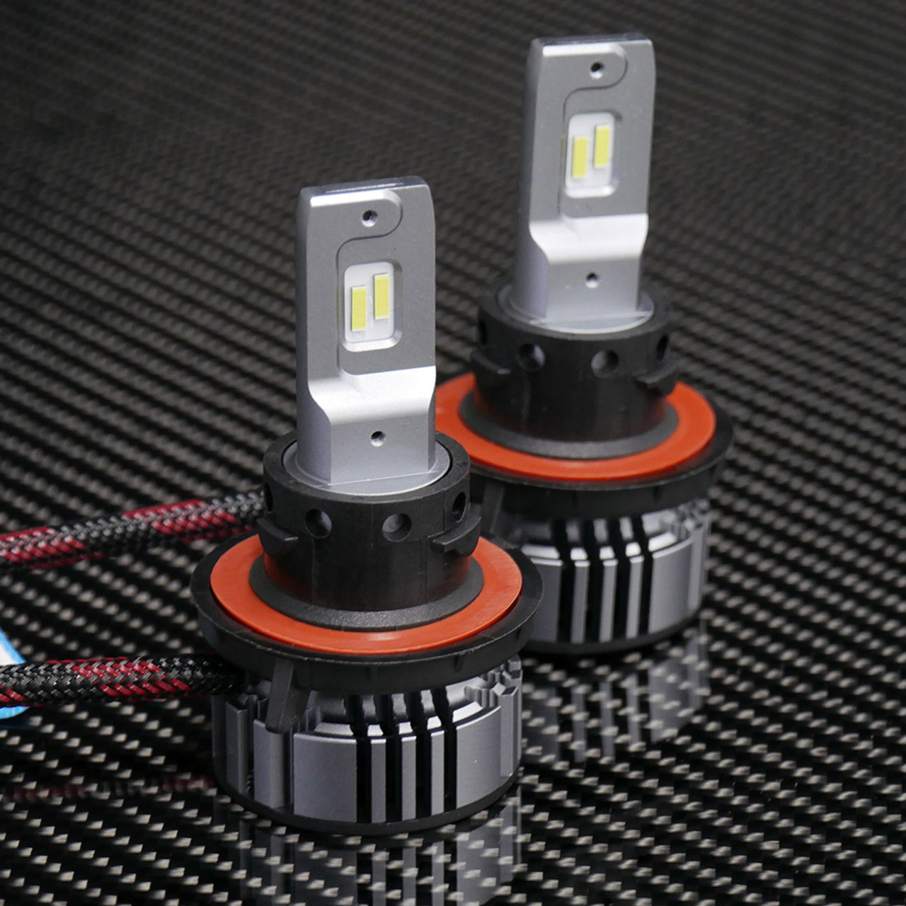 Supernova V4 Led Headlights H13 Bulbs In Addition Halogen Light On Series Circuit Voltage Headlight