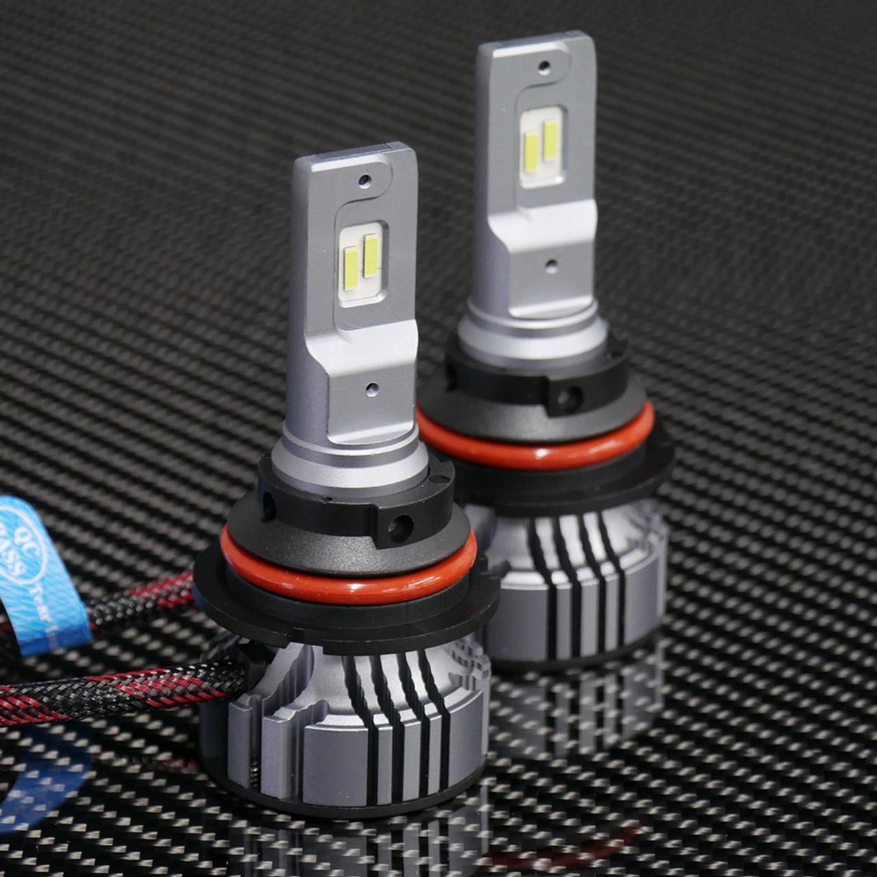 v 4 led headlight bulbs 9007