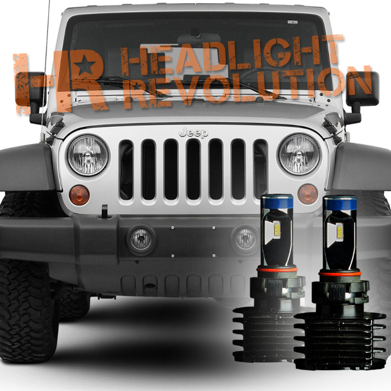 Jeep Wrangler Fog Lights >> 2007 2017 Jeep Wrangler Jk Led Fog Light Bulb Upgrade Level 2