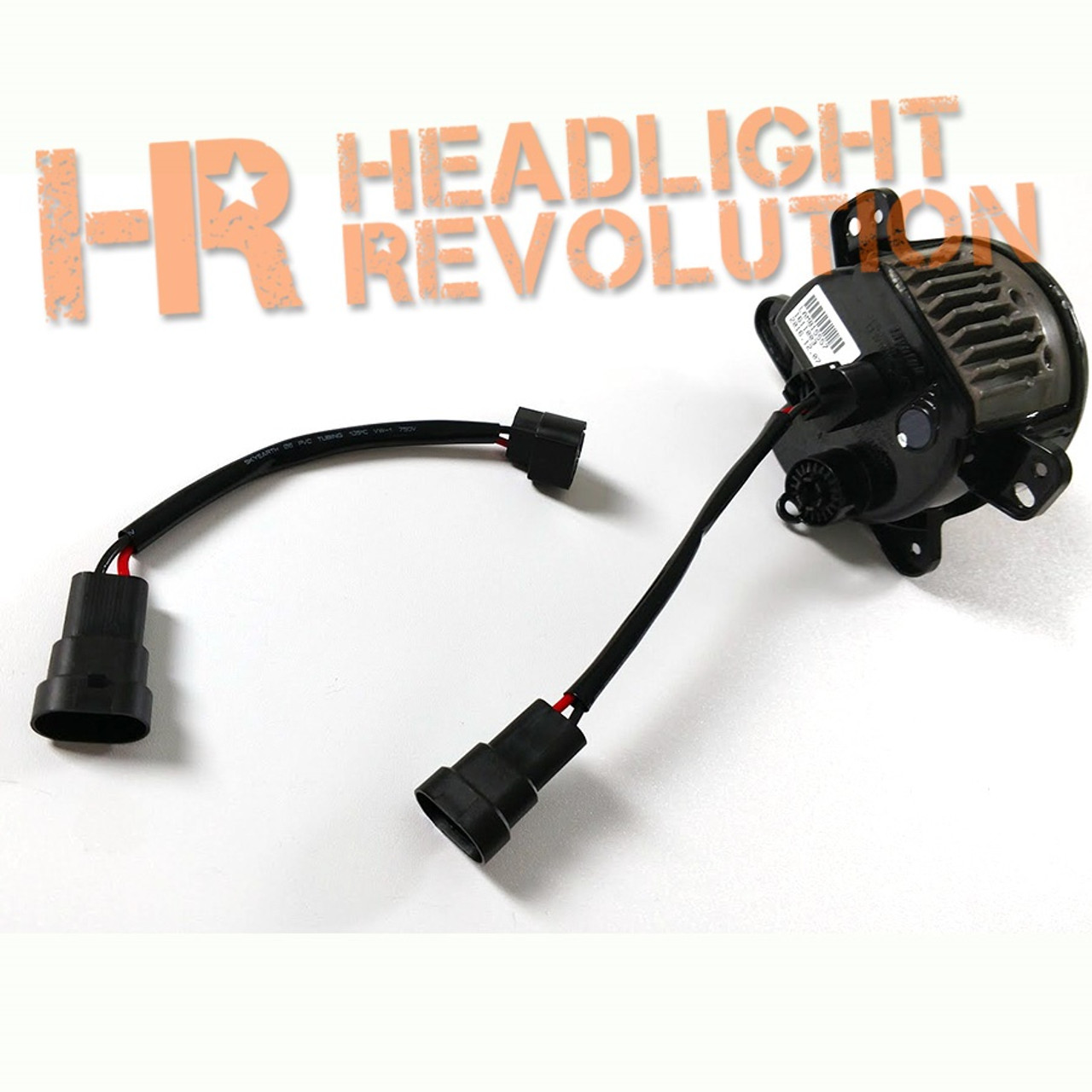 Headlight Revolution 9005 Male to 2504 Adapter Wire Harnesses for on