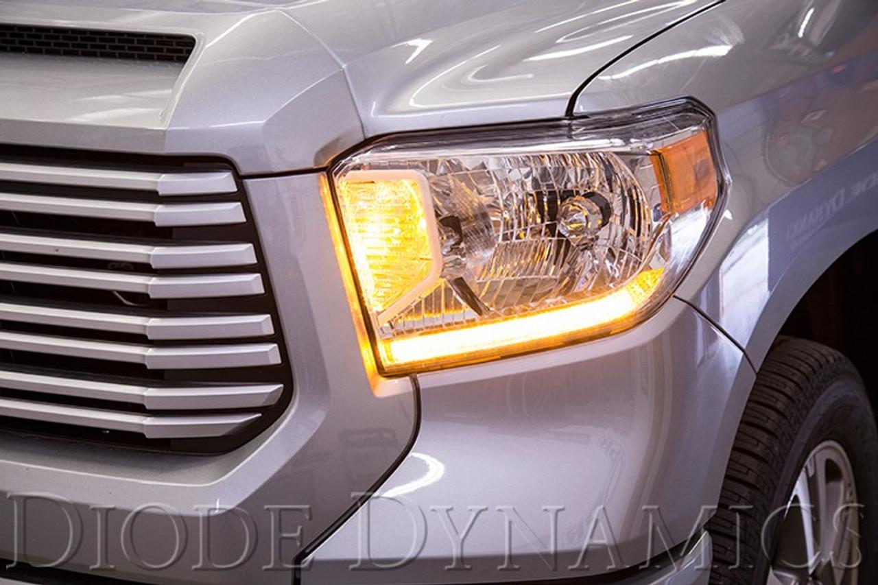 2014-2017 Toyota Tundra Standard Headlight Switchback LED DRL Boards
