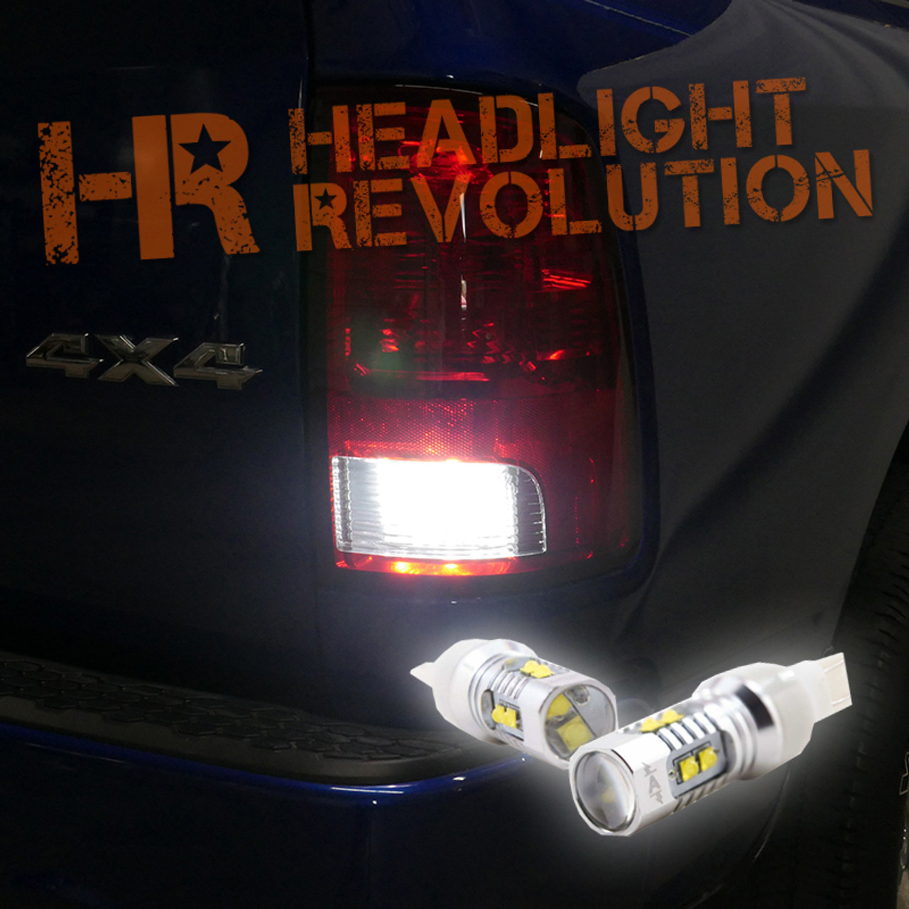 dodge ram led reverse bulbs upgrade headlight revolution